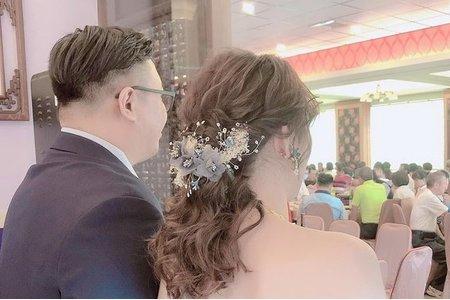 108.10.26欣容結婚造型
