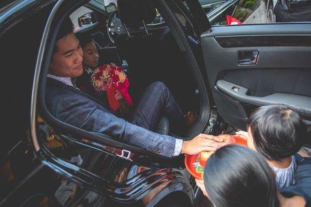 2019年6月29日 翼家玔&陳瑜 結婚迎娶儀式