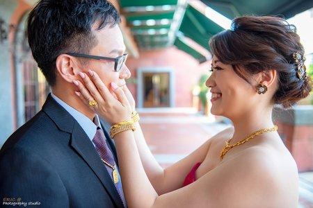 2019年6月15日永成&冠亨訂婚證婚午宴