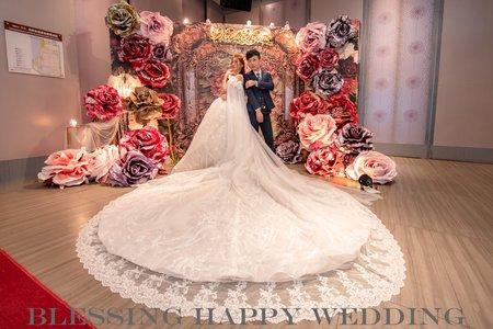 2019年11月23日 昱峰&嘉琦 婚禮晚宴