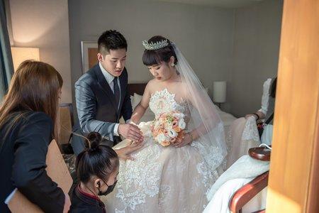 2021年1月31日 昀涵&韋豪 婚禮搶先看~