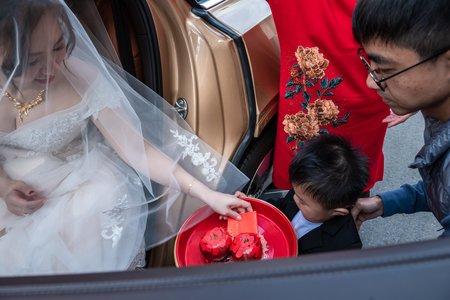韋榤&庭伃 文定迎娶儀式午宴 婚禮記錄