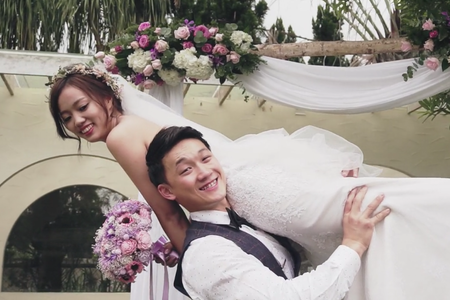 婚禮動態紀錄 (MV影片截圖)