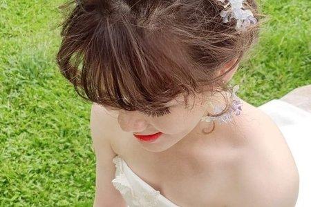 特製 日本水晶花飾品 專屬獨ㄧ