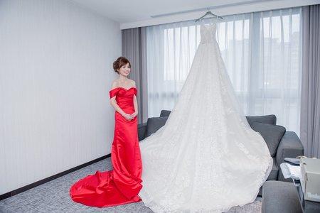 【雙雙對對.攝影工坊】=Brian & Ivy Wedding (訂結儀式)=