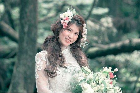 白紗婚紗閨蜜小清新
