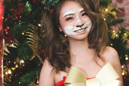 聖誕節創意兔女郎