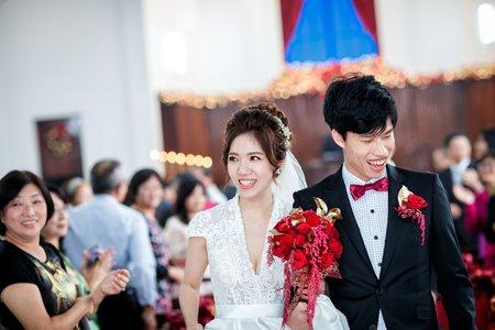 【婚禮紀錄】教堂證婚