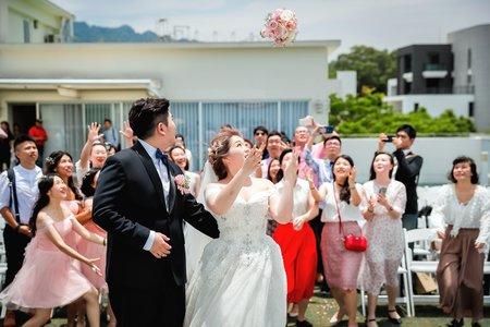 【婚禮紀錄】心之芳庭-天空Villa