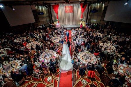 【婚禮紀錄】台北遠企|迎娶午宴