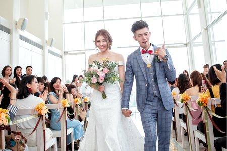 【婚禮紀錄】心之芳庭|儀式午宴