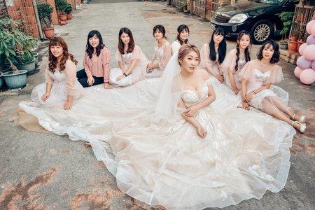 2019.11.29 婕逸的幸福迎娶花絮