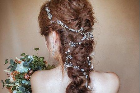 艾莉のAlley_夢幻女神風編髮/噴槍底妝
