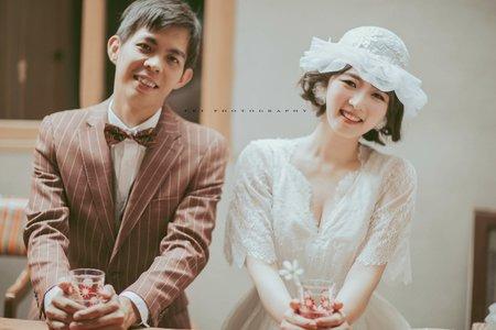 在台南像在日本 自助婚紗