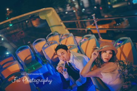 觀光巴士 台南味自助婚紗