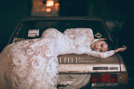 時尚甜美兼具 自助婚紗