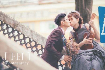 戀愛吧! 女攝影自助婚紗