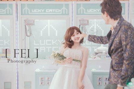 飛妃日系超甜美 自助婚紗風格