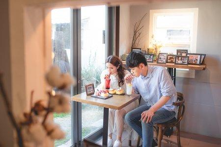 咖啡廳+落羽松
