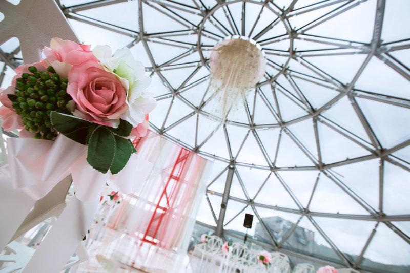 婚禮儀式堂-圓夢方案S2飛蝶圓頂作品