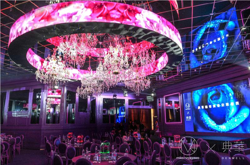 蜷川實花跨界設計,全球唯一美學宴會空間