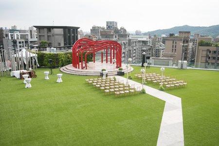 婚禮秘境-全台唯一戶外花園婚禮
