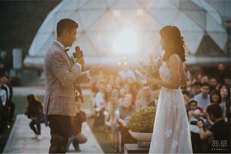 戶外花園婚禮