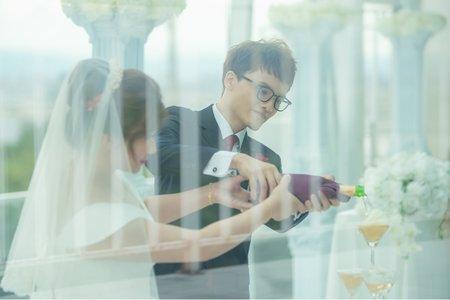 [婚禮紀錄]韋帆&文華證婚 球愛物語
