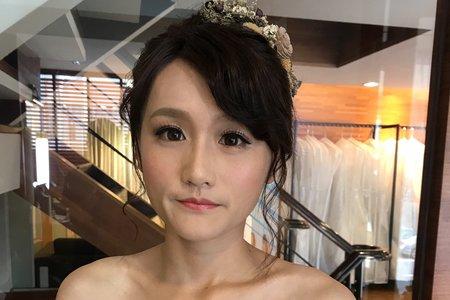 一白一晚婚紗照