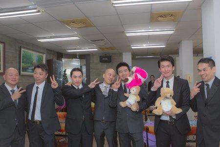 [婚禮記錄]  2014.12.27  迎娶。儀式 Wedding