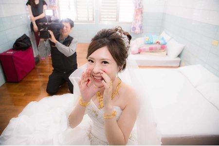 [婚禮記錄] 2015.12.05  迎娶。午宴 Wedding