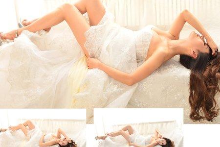 棚拍個人婚紗