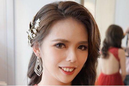 湘翎Shan makeup 混血女神風格