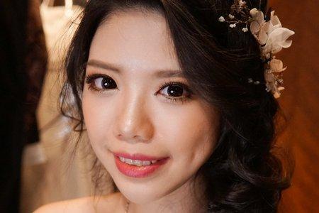 湘翎Shan makeup studio 12/23 Elly補請午宴