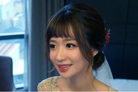 湘翎Shan makeup studio 1/21 鈺芸迎娶午宴