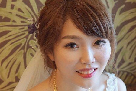 湘翎Shan makeup studio 1/19育馨 迎娶晚宴