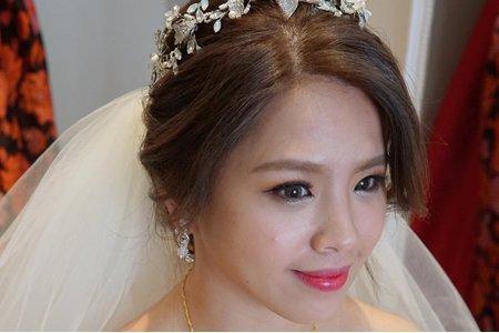 湘翎Shan makeup studio 漢娜訂結晚宴