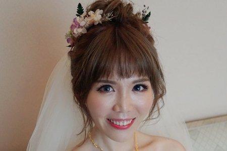 湘翎Shan makeup studio 馨誼結婚午宴