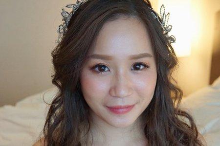 湘翎Shan makeup studio Yoyo午宴