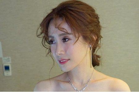 湘翎Shan makeup studio 婉如結婚晚宴