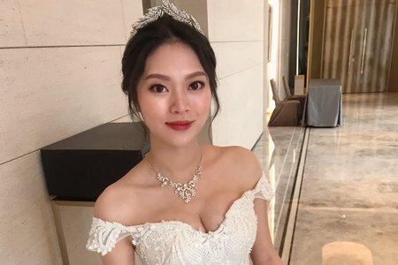 湘翎Shan makeup 品心純午宴