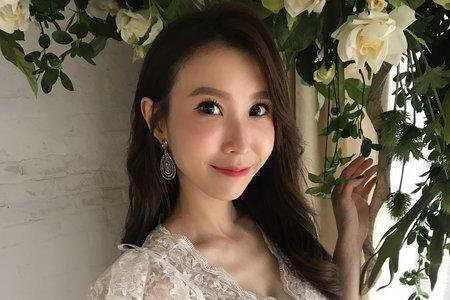 湘翎Shan makeup studio 仙氣空姐棚拍