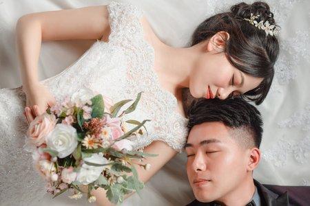 湘翎Shan makeup studio 雅岑婚紗照