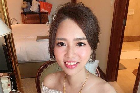 湘翎Shan makeup studio 皓貽純午宴