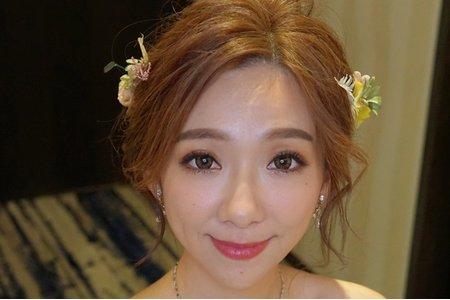 湘翎shan makeup studio 曉青訂結晚宴