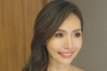 湘翎Shan makeup studio Liya純晚宴