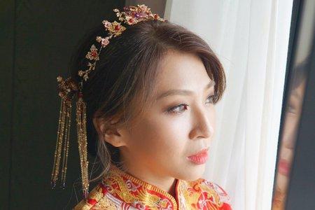 湘翎Shan makeup studio 憶華訂結晚宴