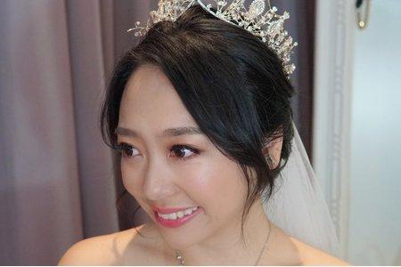 湘翎Shan makeup studio 怡岑訂結晚宴