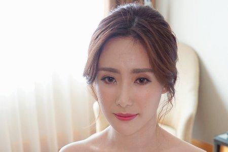 湘翎Shan makeup studio 婉如文定午宴