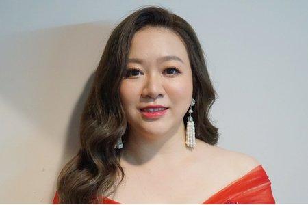 湘翎Shan makeup studio 品諭儀式晚宴